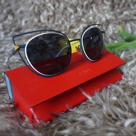 93d4149e097f Fendi Accessories | 53mm Cutout Cat Eye Sunglasses | Poshmark